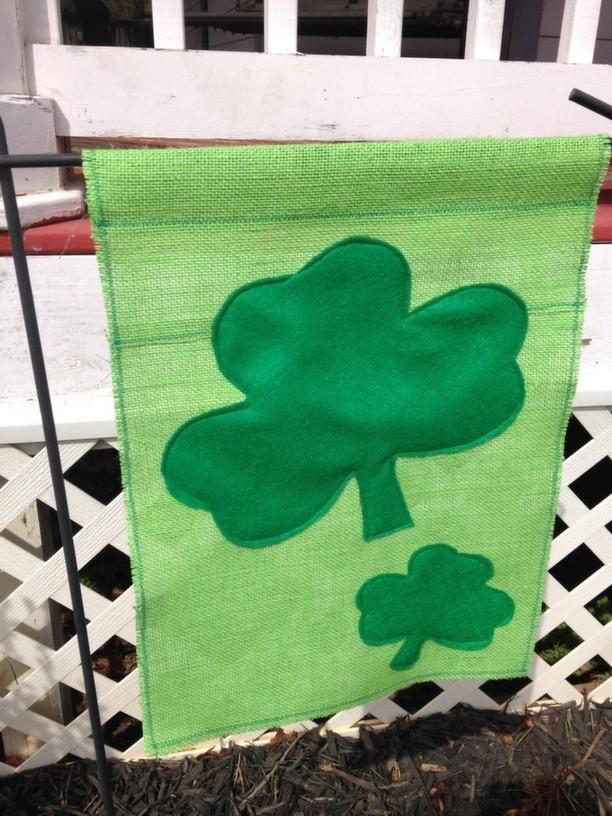 St Patrick's Day Garden Flag 12
