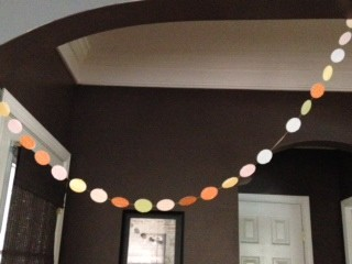 Easter Egg Paper Garland 10