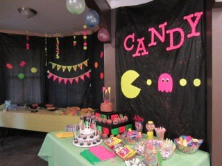 Totally radical 80 39 s themed party part 1 southern couture for 80 s table decoration ideas