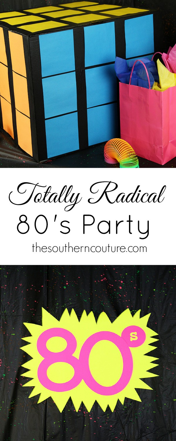 Throw an 80's party on a budget. Thesoutherncouture.com gives you ideas for decorations, food, attire, games, and much more.