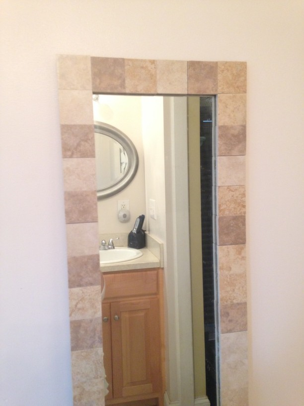 DIY Bathroom Mirror Revamp