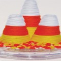Candy Corn Yarn Cone Featured Image