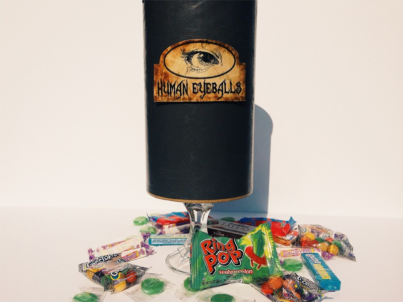 Halloween Candy Canister 13