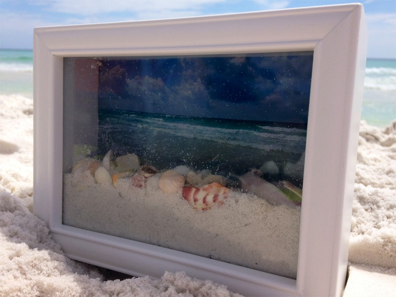 Ocean View Shadow Box 6
