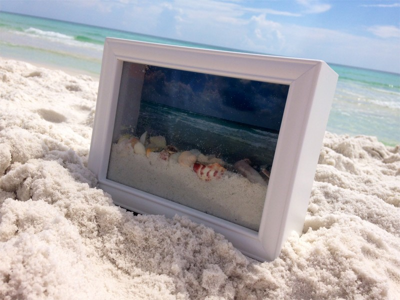 Ocean View Shadow Box 7