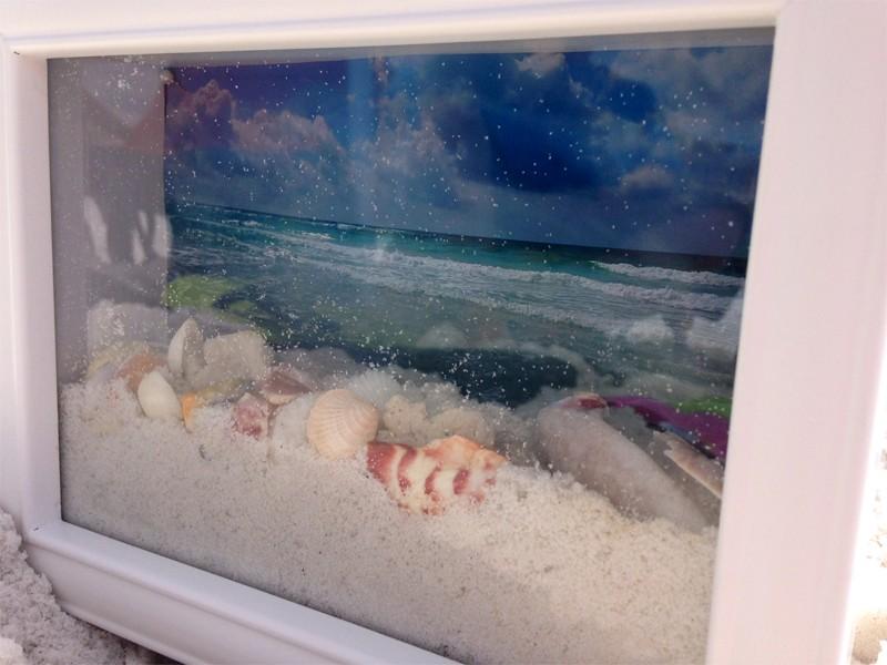 Ocean View Shadow Box 8