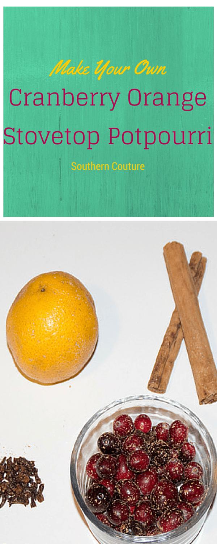 Cranberry Orange Stovetop Potpourri Southern Couture
