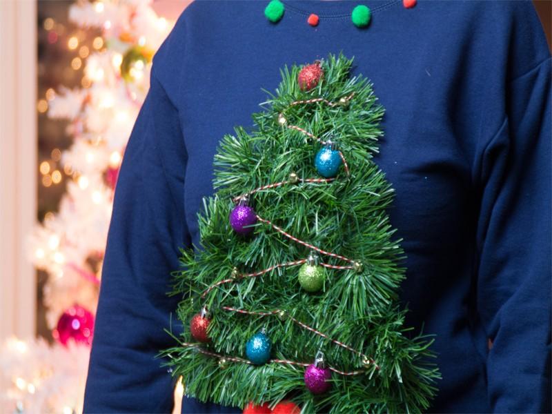 ugly christmas tree sweater 2 - Ugly Christmas Trees