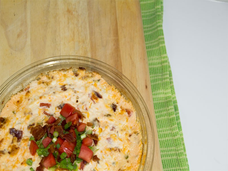 BLT Cream Cheese Dip 4
