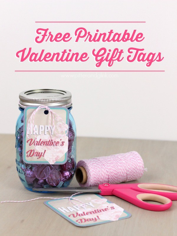 Free Printable Valentine Gift Tags from Pitter and Glink 4
