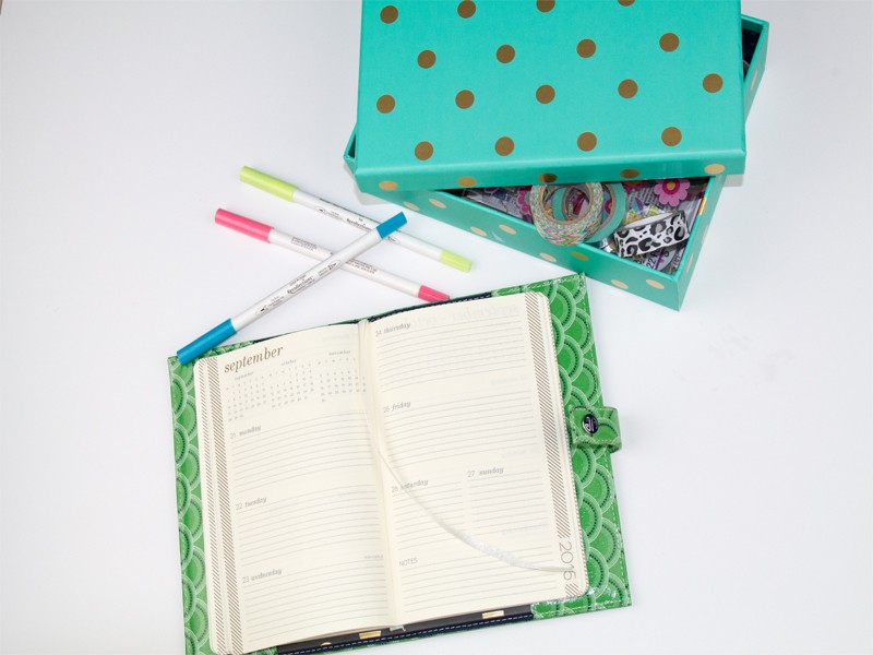 How to Organize Your Planner with Washi Tape 4