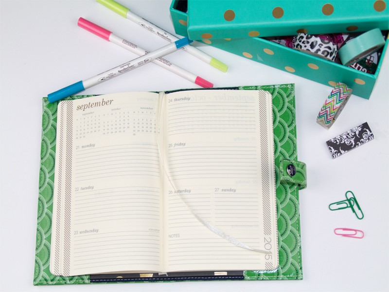 How to Organize Your Planner with Washi Tape 5