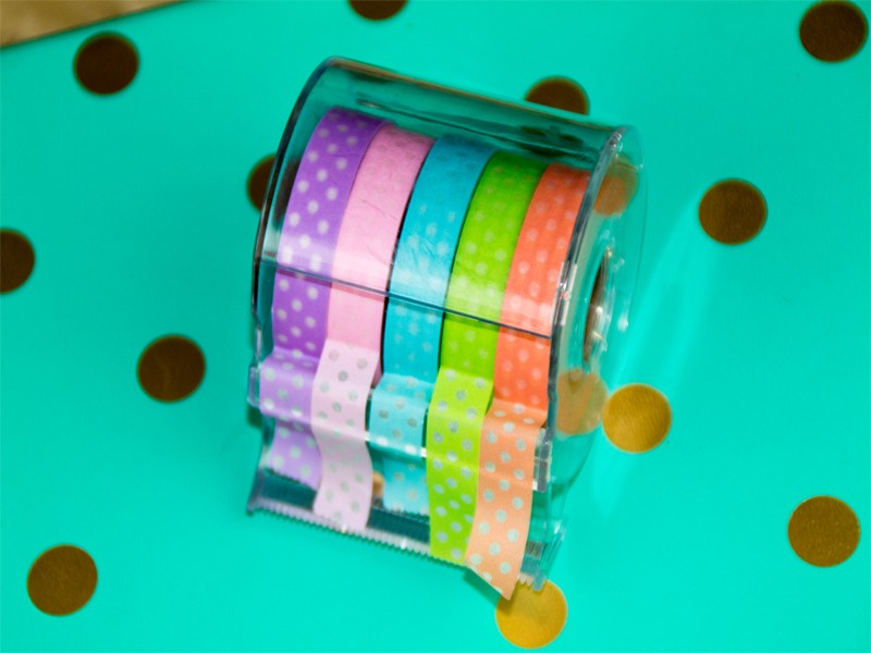 How to Organize Your Planner with Washi Tape 6