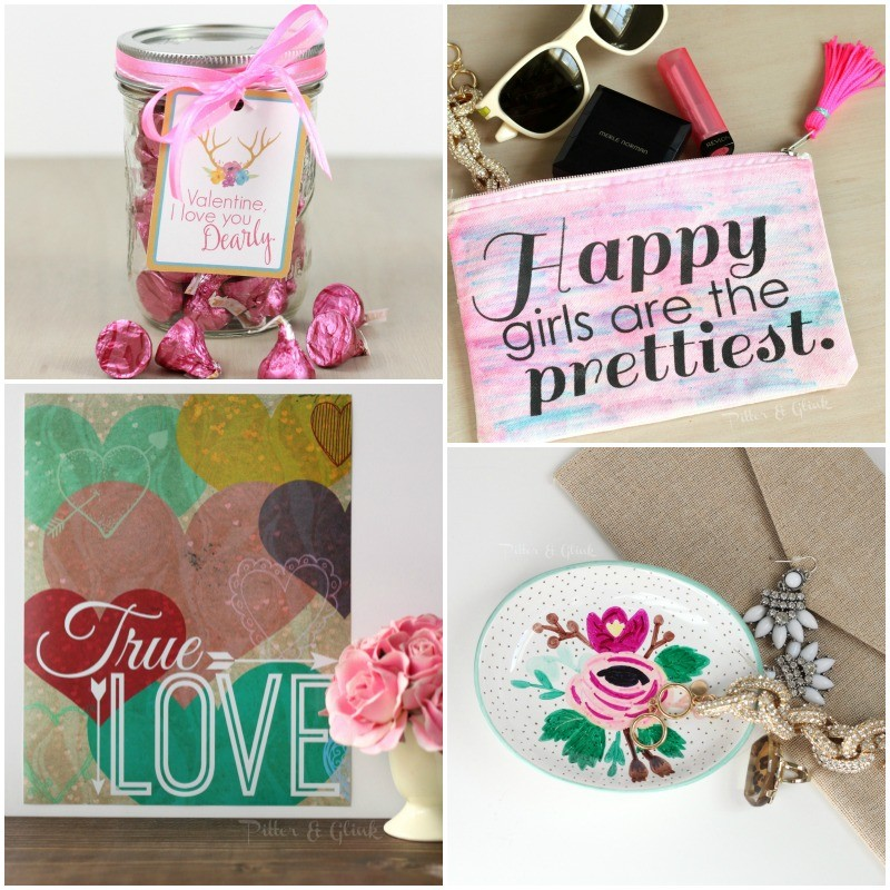 Free Printable Valentine Gift Tags from Pitter and Glink 5