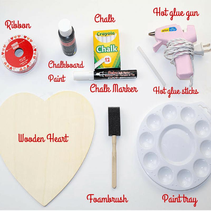 Valentine Memo Chalkboard 1