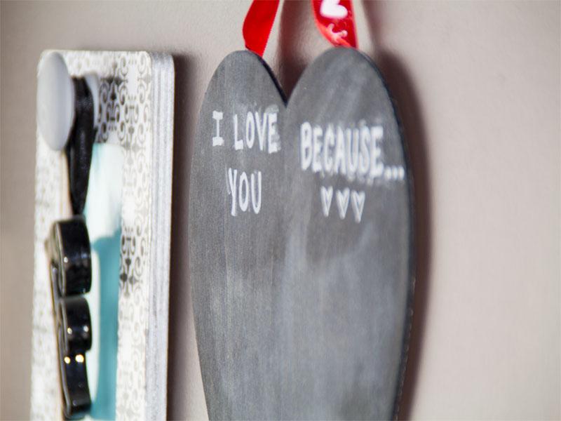 Valentine Memo Chalkboard 10