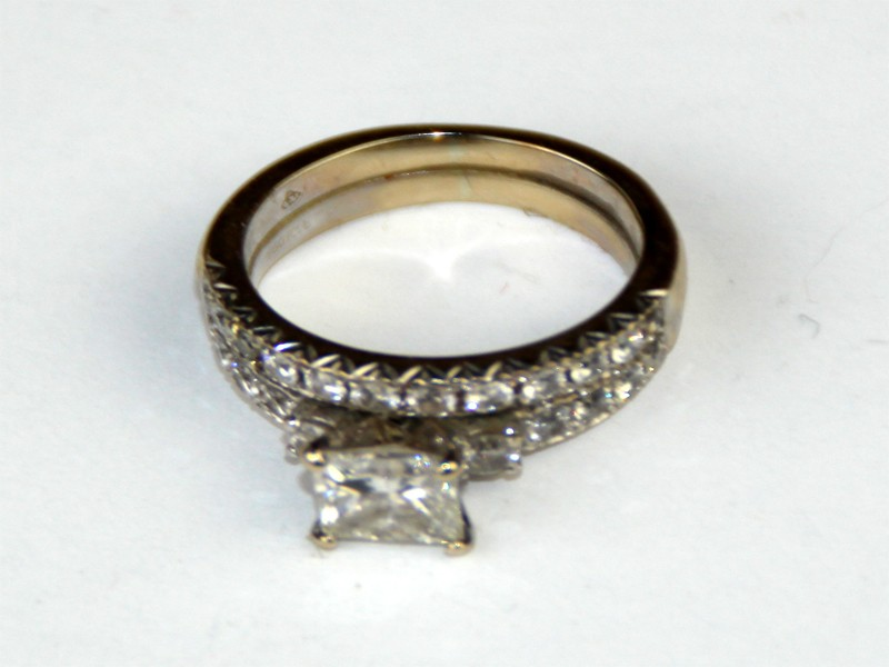 how to clean diamond ring ammonia