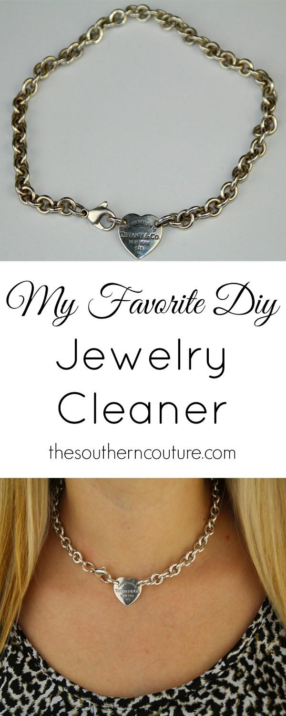 My Favorite DIY Jewelry Cleaner