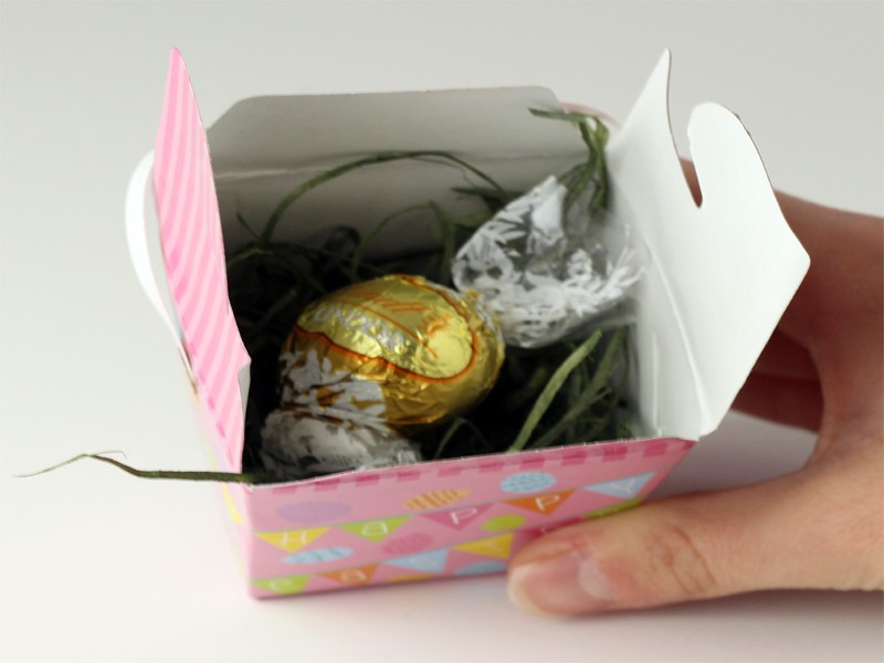 Easter Countdown with Treat Boxes