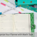 How to Organize Your Planner with Washi Tape