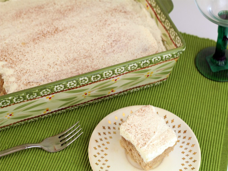 Tres Leches Cake for Cinco de Mayo