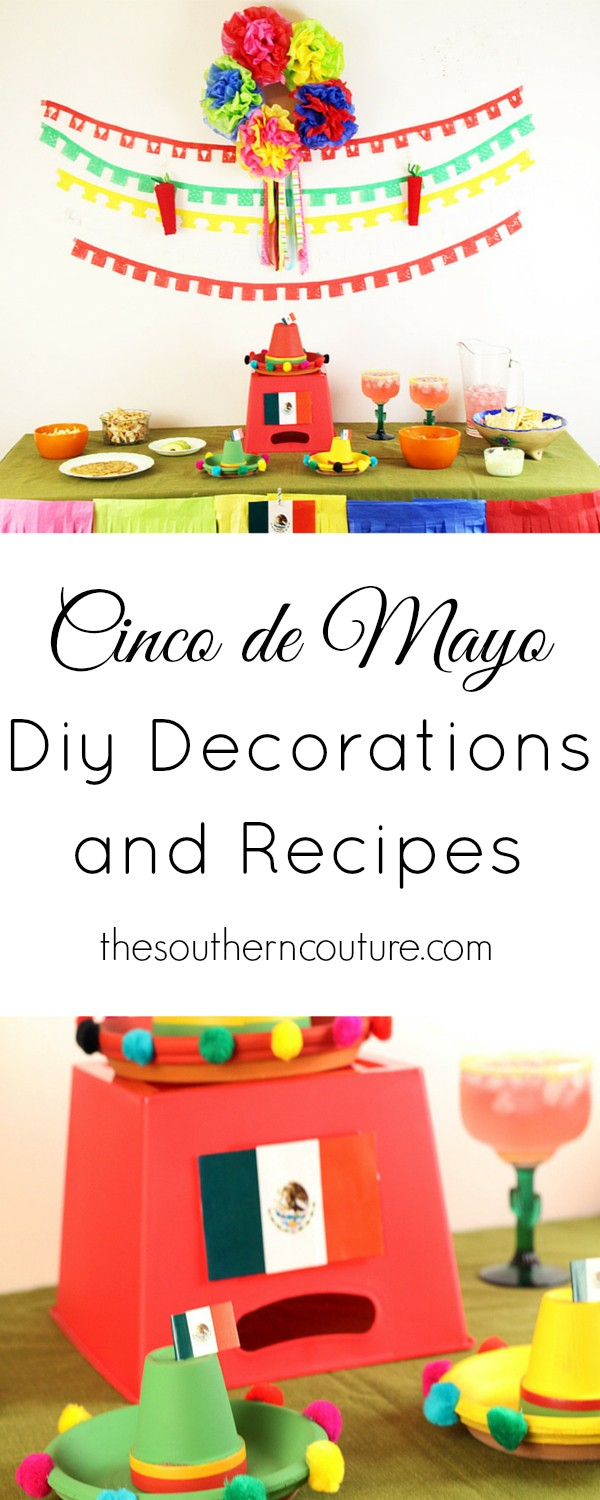 Your Cinco de Mayo party is planned and all taken care of with these budget friendly decorations and recipes. At thesoutherncouture.com all you need to do is take some notes because you will be all covered.