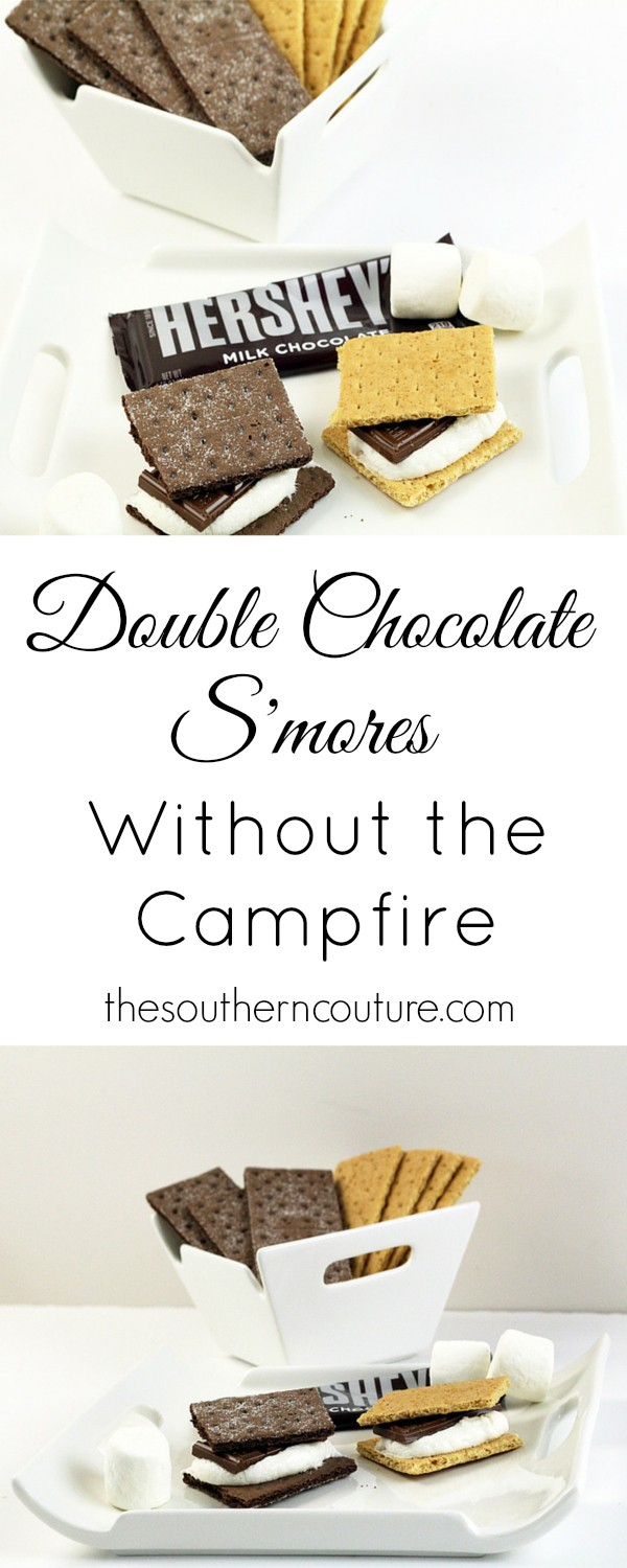 Have you ever been craving a s'more but didn't have a fire built to roast your marshmallows? Well now you don't have to worry about it because I have the perfect recipe that is simple and quick to satisfy your craving at thesoutherncouture.com.