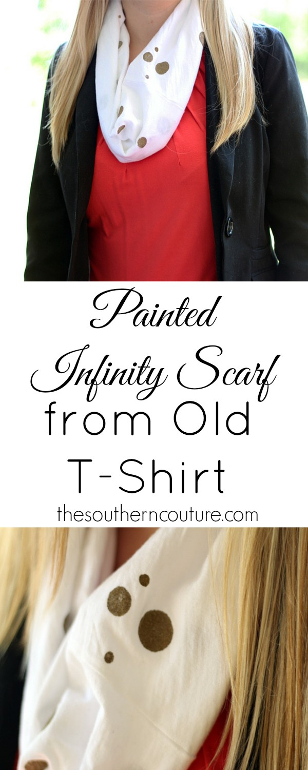 You don't have to have a lot of money to dress up your wardrobe. Make your own from an old t-shirt with this no-sew tutorial from thesoutherncouture.com. Your kids can also help by tie dying their own.