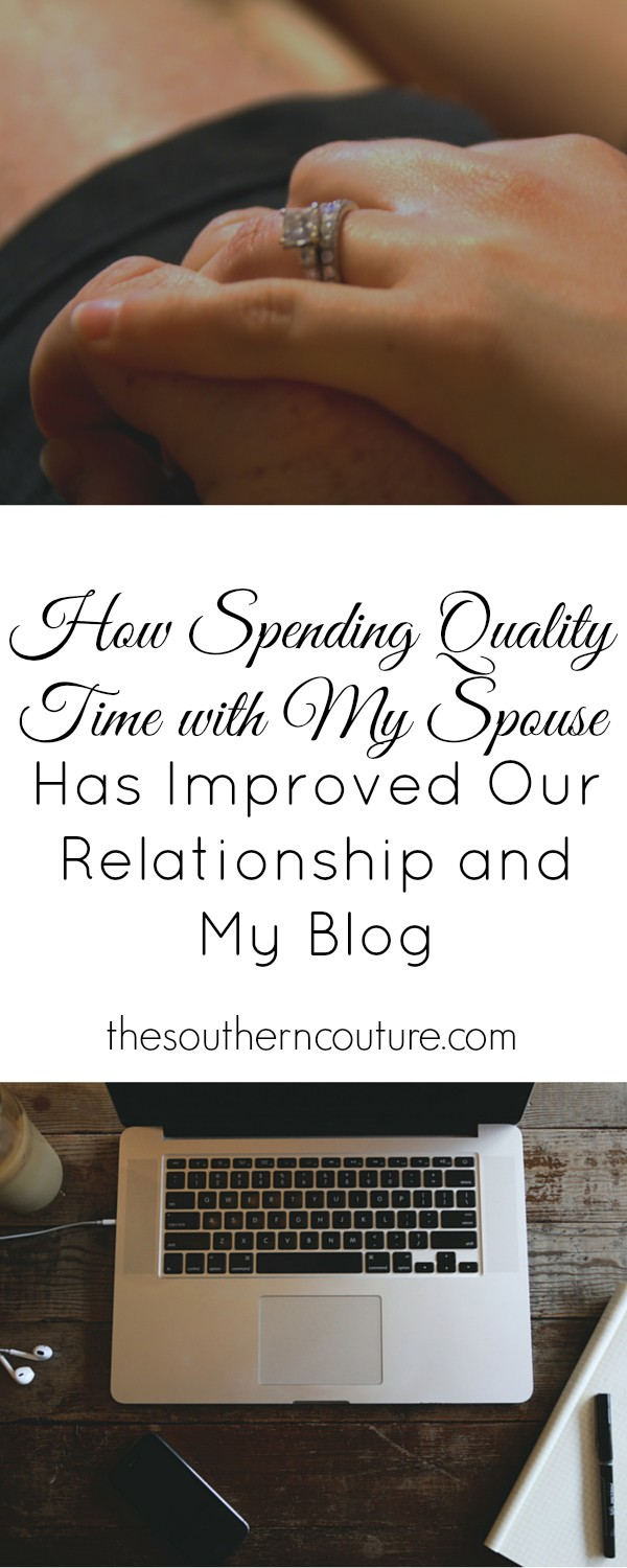 We can all get wrapped up with all the demands of daily life. Come see what I have found to help mine and my husband's relationship at thesoutherncouture.com which has also in turn helped my blog and work as well.