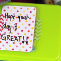 Make Your Own Reusable Lunchbox Love Notes