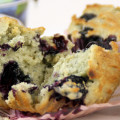 The Most Moist Blueberry Muffins Ever