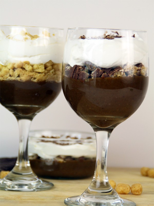 Triple Layer Chocolate Parfait