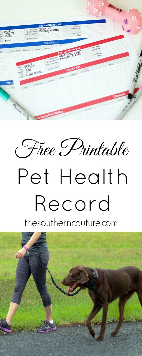 What All Pet Owners Should Have +{Free Printable}