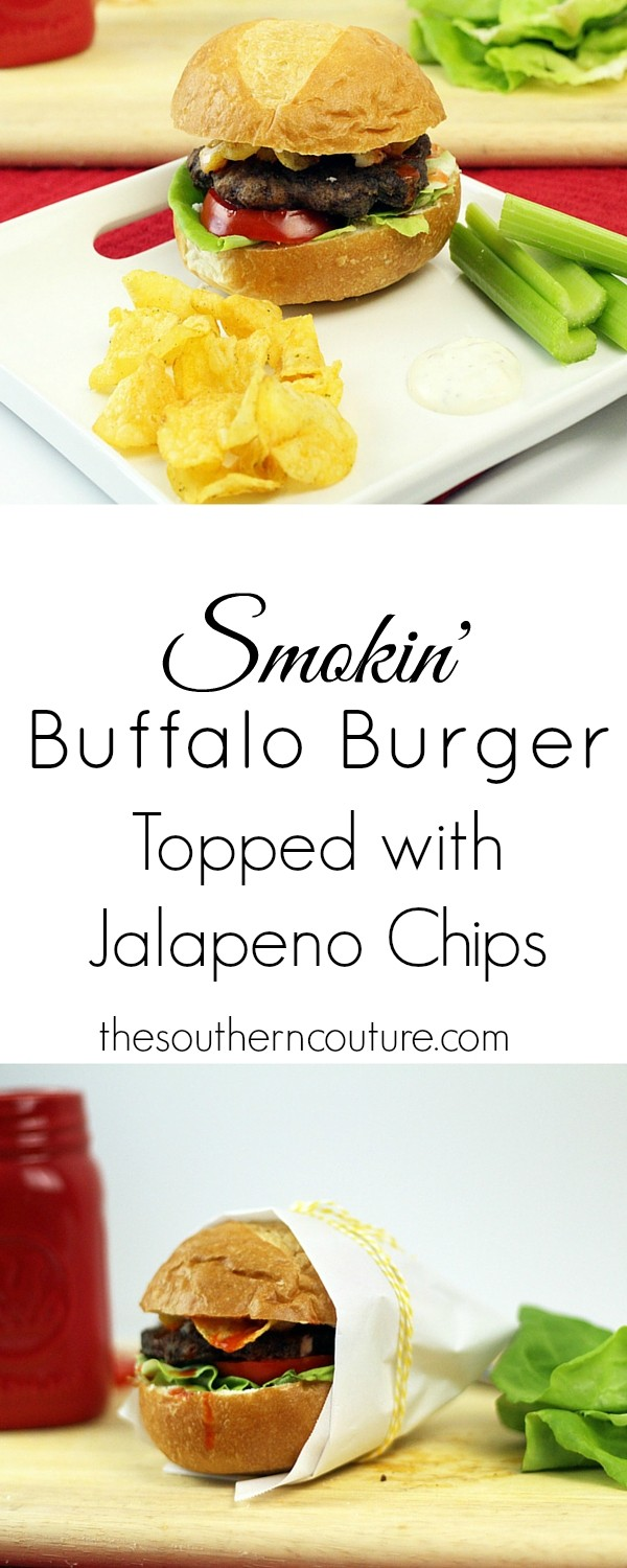 Spice things up from an ordinary burger to something spectacular with jalapeno chips to top it off. Get the recipe at thesoutherncouture.com.