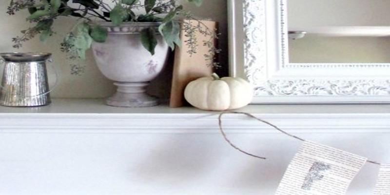 Fall Mantle Decorating Ideas The Creative Corner 927