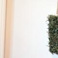 Moss Covered Letter Decor