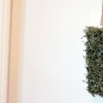 Moss Covered Letter Decor
