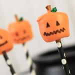 Pumpkin Marshmallow Pops