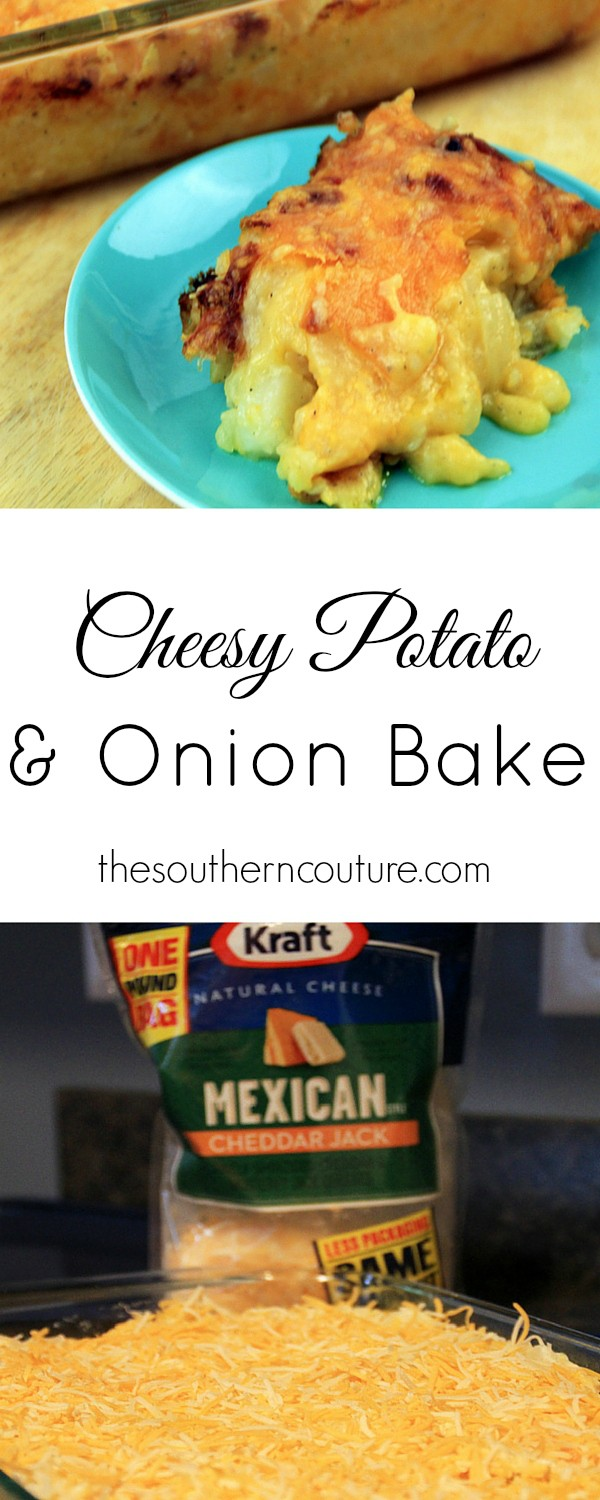 You will enjoy sinking your teeth into the cheesy potato and onion bake from thesoutherncouture.com. Plus your guests for any party or occasion will love you for making it too.