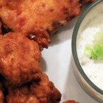 Creamy Onion Dip Recipe + Buffalo Chicken Bites