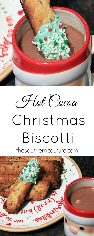 Hot Cocoa Christmas Biscotti