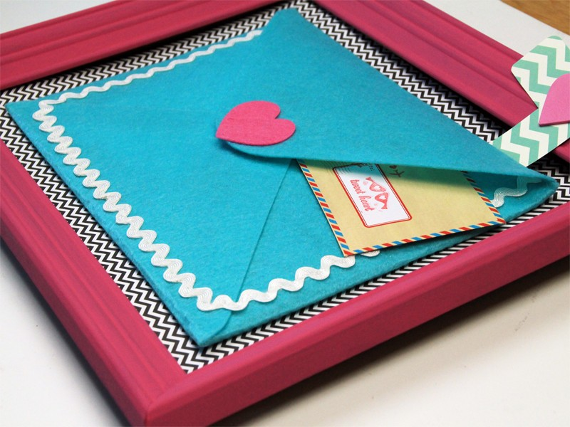 The Most Adorable Valentines Letter Holder