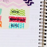 How to Use Washi Tape & More to Organize Your Planner