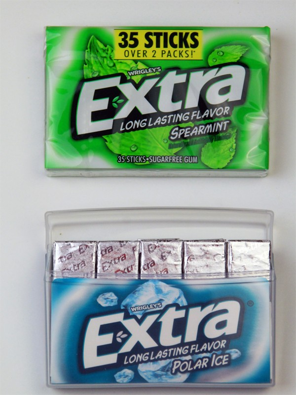 photo relating to Extra Gum Valentine Printable titled Your self Normally Move the Further Mile Valentines