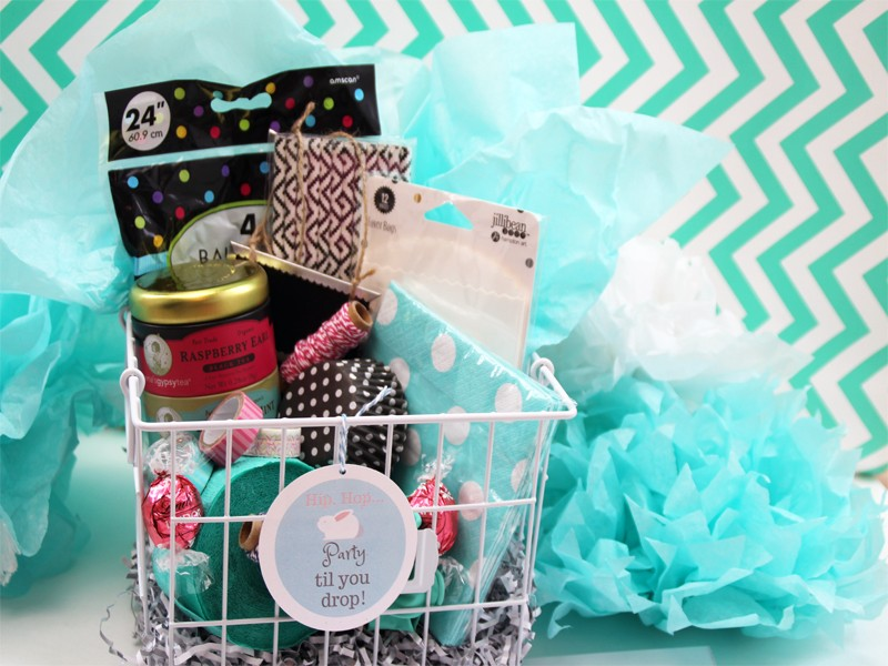 Party planner easter basket idea southern couture an easter basket for all party planning enthusiasts negle