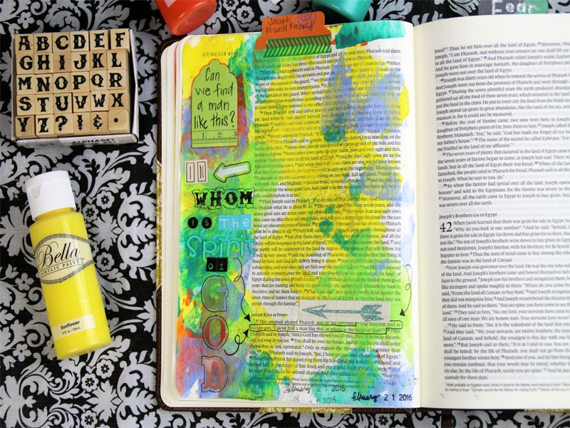 A Growing Collection of Bible Journaling Supplies