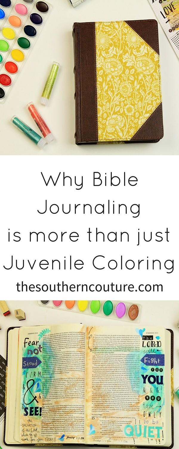 Have you ever wondered what all the rage is about with this Bible Journaling? Come find out why it is certainly more than just JUVENILE COLORING and how you can get started on this journey too.