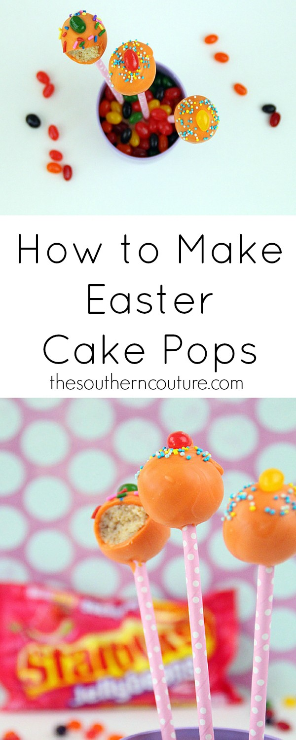 Make your very own EASY to make and might I add ADORABLE Easter cake pops! They are so yummy plus you can get all the tips and pointers to make them perfect. Come find out all my secrets.
