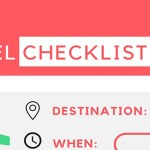 Travel Necessities and Planning Printable