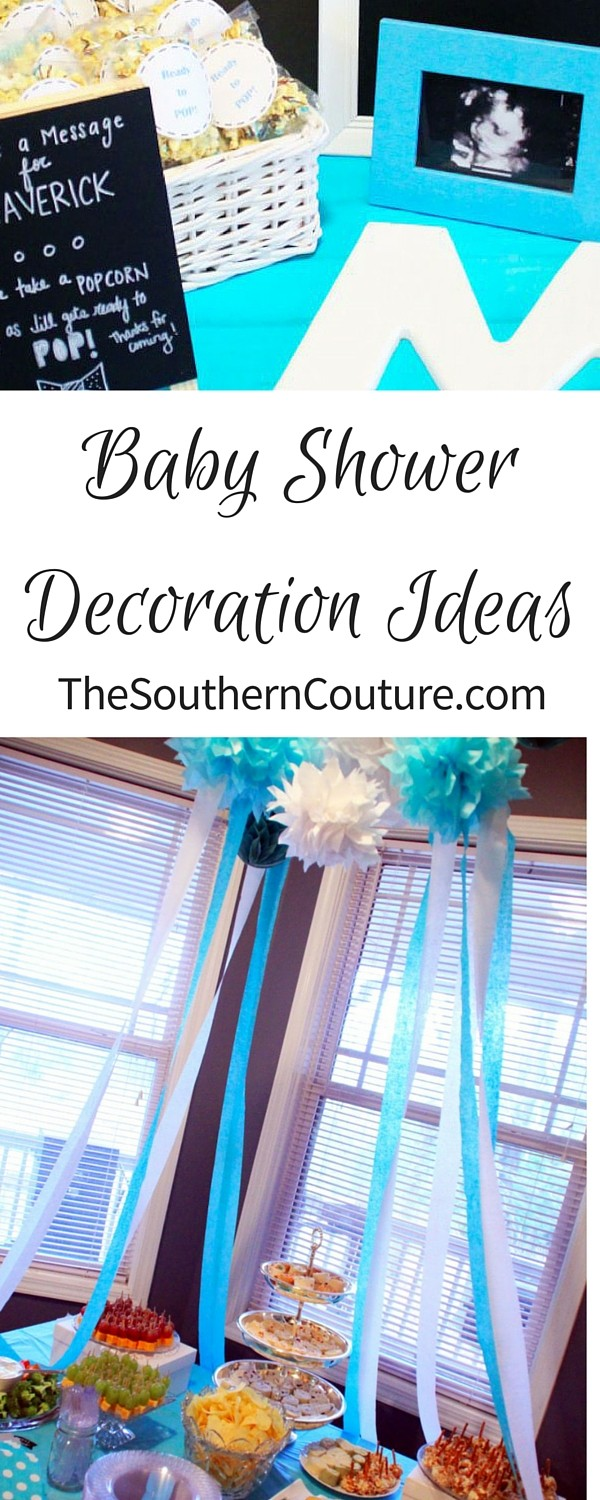 Get ready to celebrate the sweet miracle that is on its way with these Baby Shower Decoration Ideas. They easily can be used for a BOY or GIRL with just the change of colors. BOW TIES magically can become HAIR BOWS!